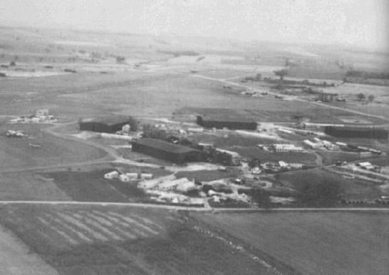 Tempsford airfield during WW2